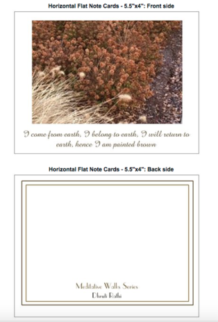 Earth Flat Notecards