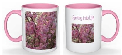 Spring into Life Mug Dhruti Rathi Studio
