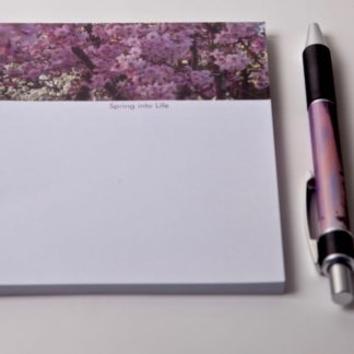 Spring into Life Magnetic Notepad