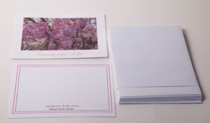 Spring into Life Notecards